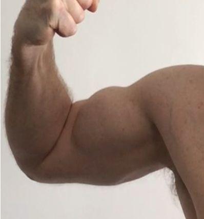 arm and muscular biceps | bulging biceps | 2014uknz+ | Flickr