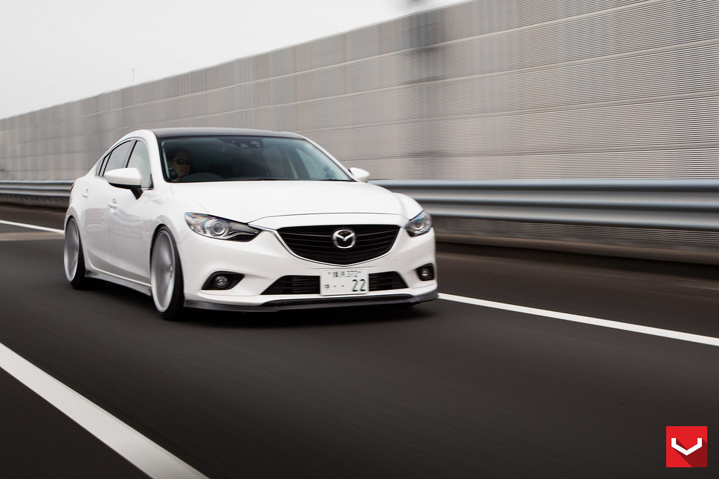 Mazda 6 Gj On Vossen 20 Inch Vfs1 Wheels Vossen Whee
