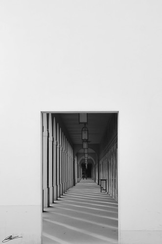 Corridor at Hofgarten | by ashex