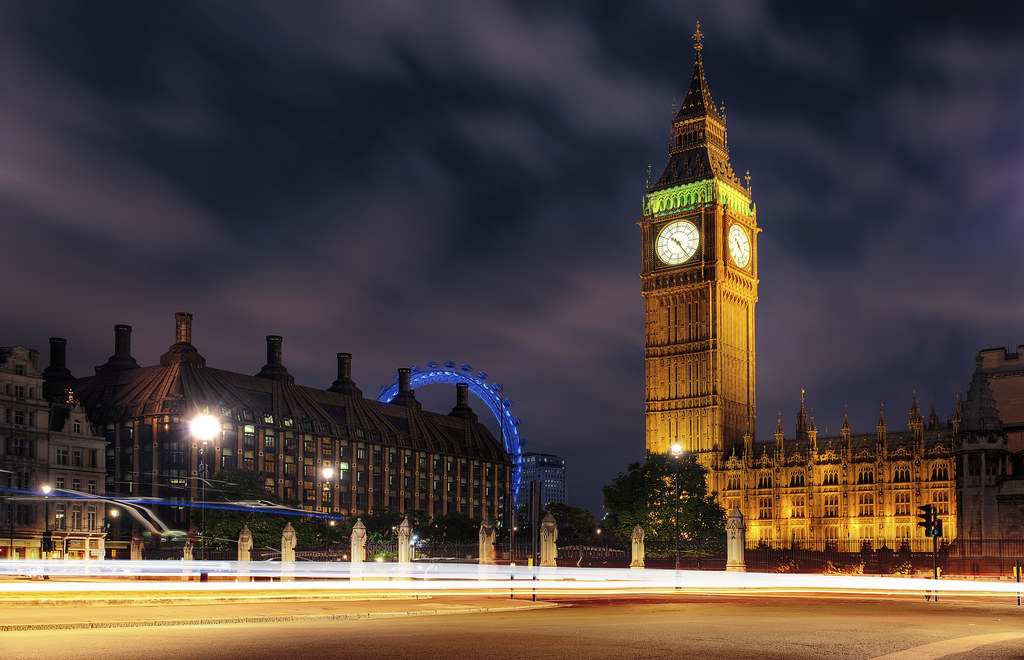 big view photography. View Of The Elizabeth Tower (Big Ben), Palace Westminster And London Eye Big Photography