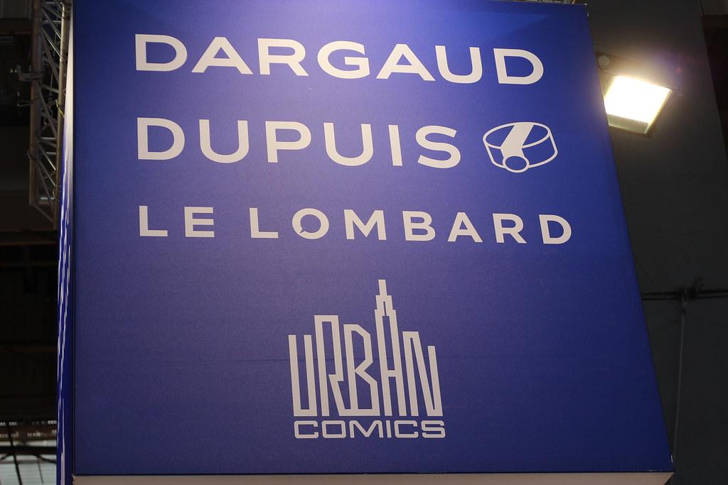 Dargaud, Dupuis, Le Lombard, Urban Comics - Salon du Livre de Paris 2015