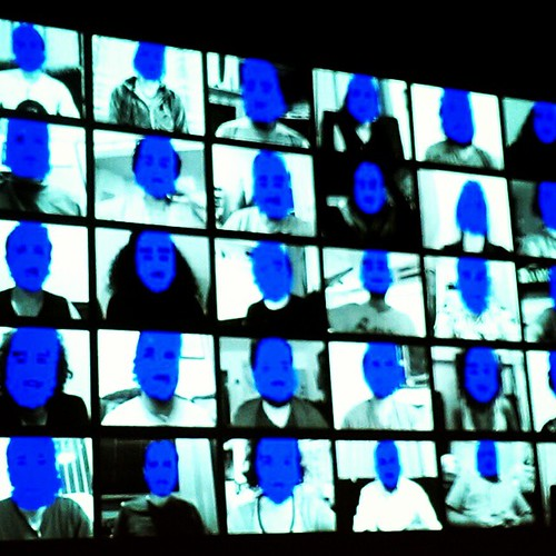 Using tech to flip facial recognition in video stories from Iran, at SXSWi