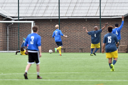 U.S. Embassy London Football Match Against The Active Chan