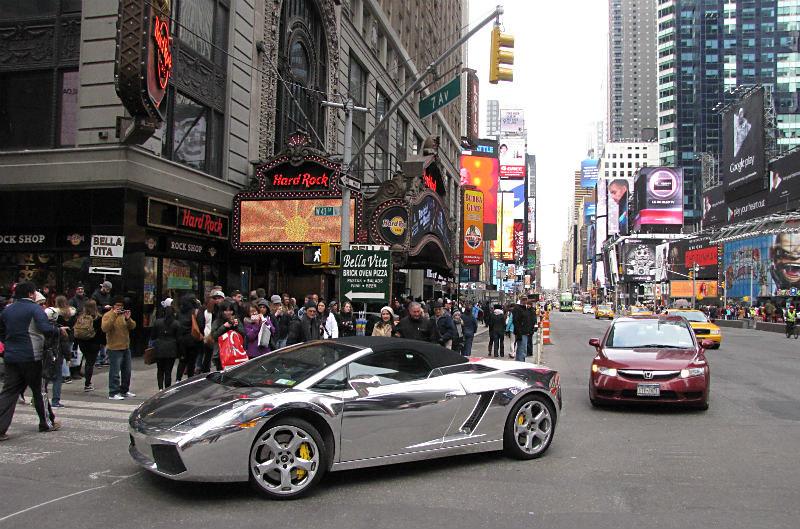 Lovely ... New York City Times Square Broadway Lamborghini 2015   By Wheeltoyz
