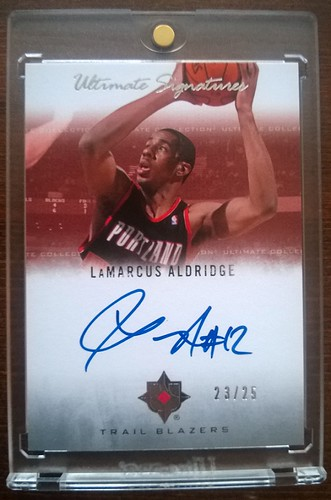 2007-08 Ultimate Collection Signatures #LA LaMarcus Aldridge /25 | by milkowski.pawel