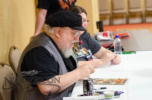 NWC38-Thursday-GRRM Signing 3 | by Norwescon