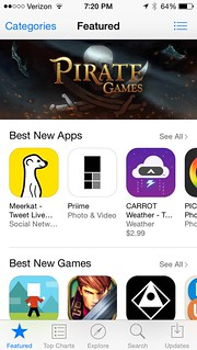 Priime Featured in the Best New Apps Section of the iPhone App Store | by Thomas Hawk