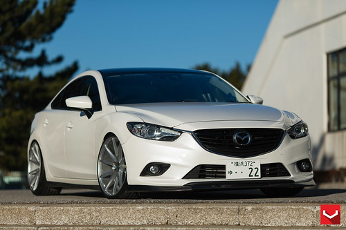 mazda 6 gj 20 inch vossen vfs1 wheels vossen wheels. Black Bedroom Furniture Sets. Home Design Ideas