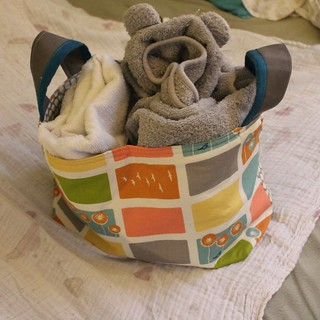 Noodlehead Divided Baskets for Baby Storage | by DanaK~WaterPenny