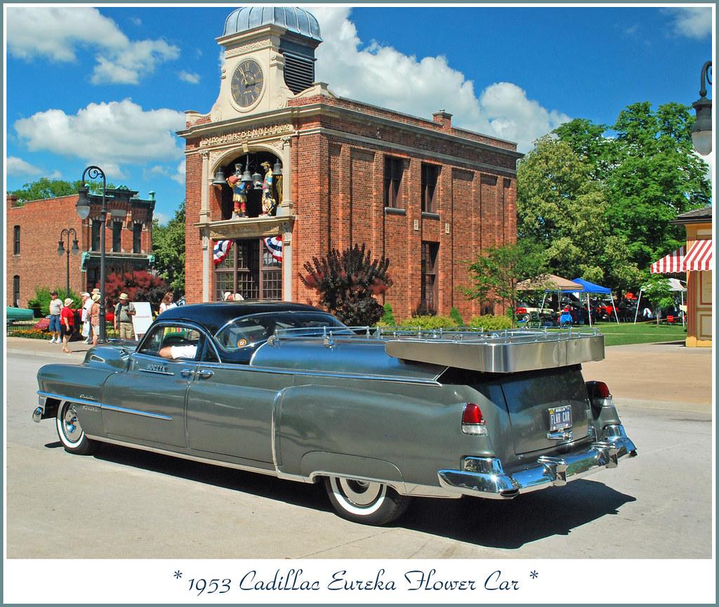 1953 Cadillac Eureka Flower Car The June 20 2010 Motor Mu Flickr