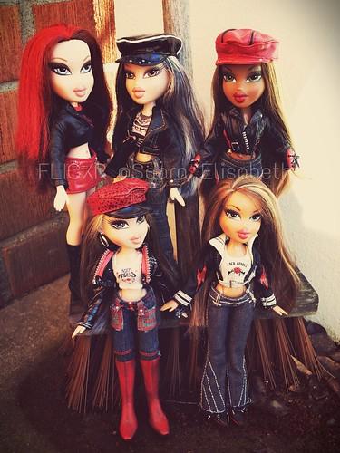 Bratz Rock Angelz Roxxi, Jade, Sasha, Cloe and Yasmin | Flickr