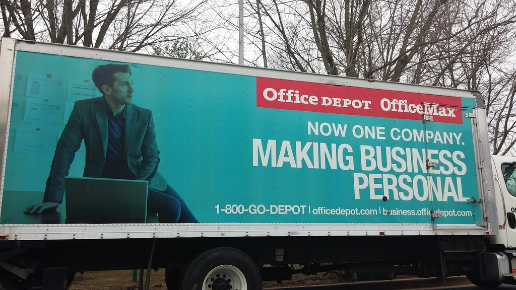 Office depot office max office max delivery truck with new flickr office depot office max by b more retail gumiabroncs Images