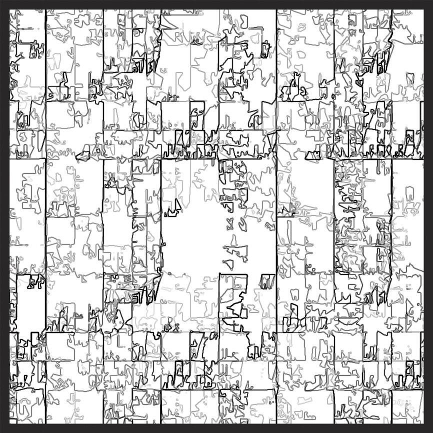 fractal coloring book by kevin dooley - Fractal Coloring Book