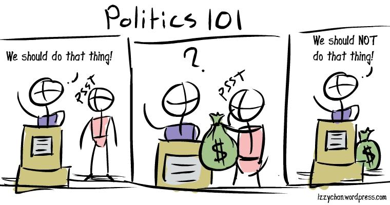 bribery lobbying