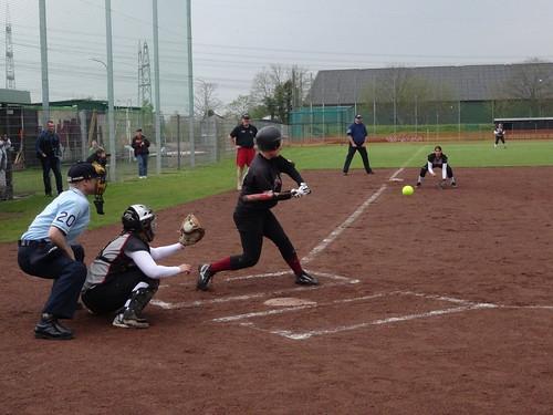 Softball: Wesseling Vermins v Hamburg Knights