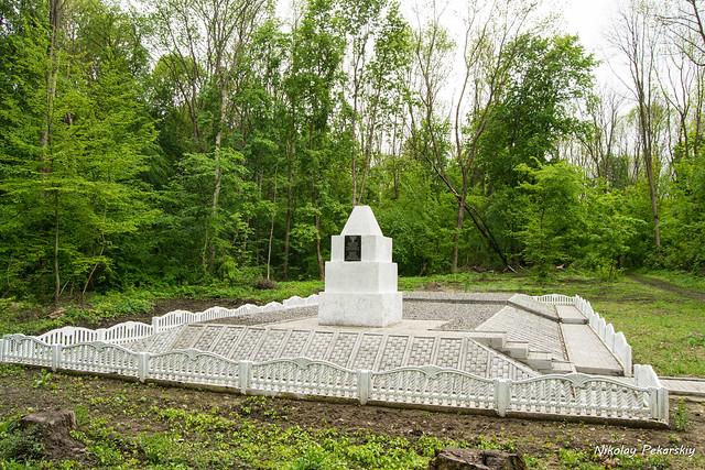 Первая могила в лесу