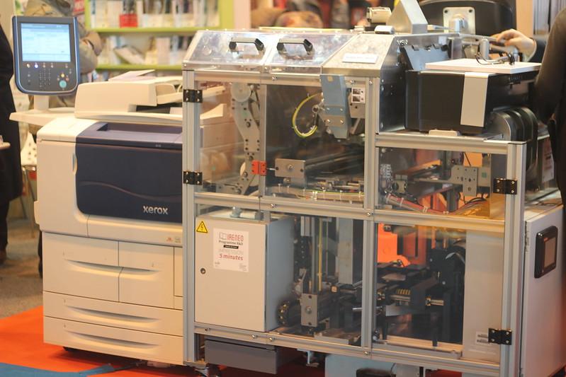 Xerox PUF, impression à la demande - Salon du Livre de Paris 2015