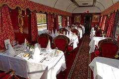 majestic train de luxe salon de luxe by train chartering private rail - Salon De Luxe
