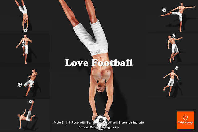 SS POSE LOVE Football M2