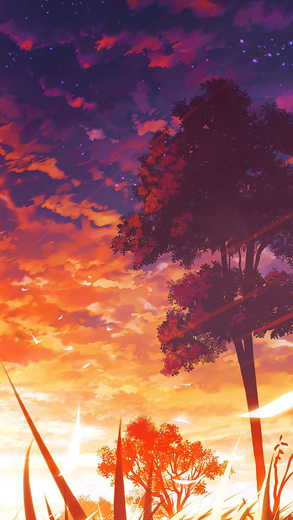 Anime Scenery Iphone Wallpaper Cool Desktop