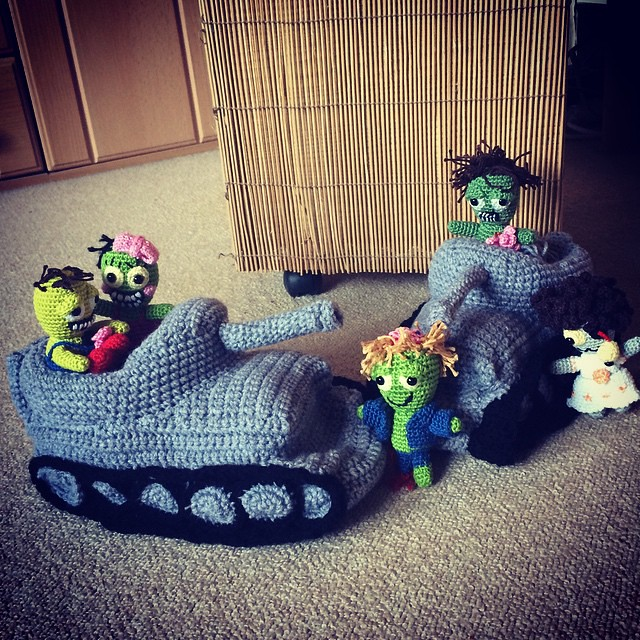 Tank Slippers Are Finally Finished And Zombies Are At Flickr