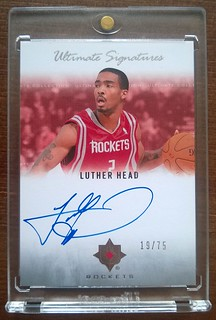 2007-08 Ultimate Collection Signatures #HE Luther Head /75 | by milkowski.pawel