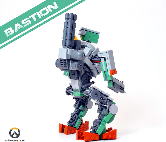 Bastion [Overwatch] -back