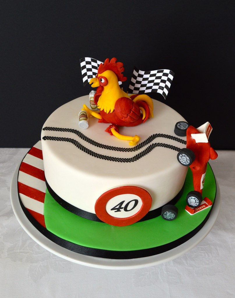 rooster cake www facebook com kennethousecakes anna adams flickr