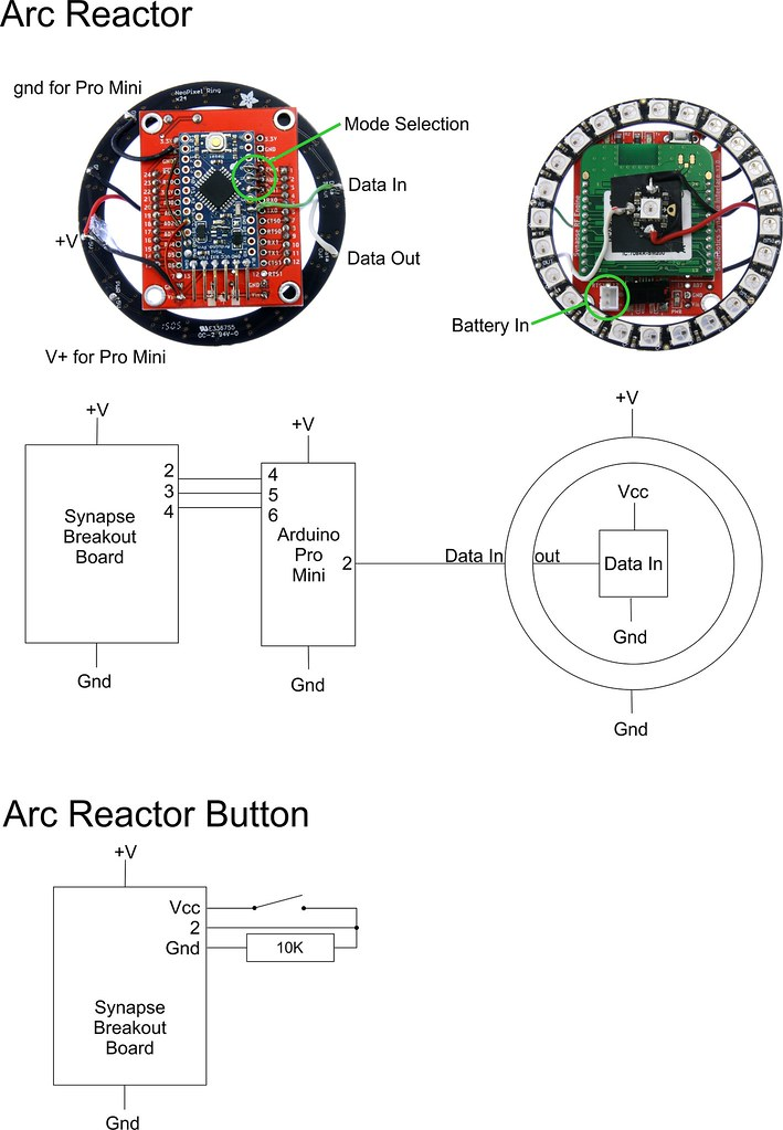 ... Arc Reactor Schematic And Pics | By Solarbotics