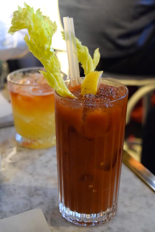 Bloody Mary at Le Bab, Soho | www.rachelphipps.com @rachelphipps