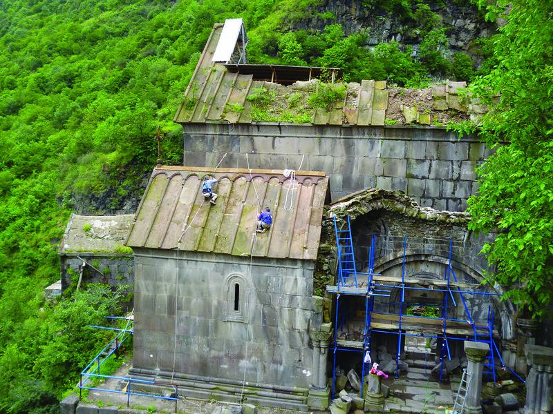 Preserving Cultural Heritage in Yerevan, ARMENIA