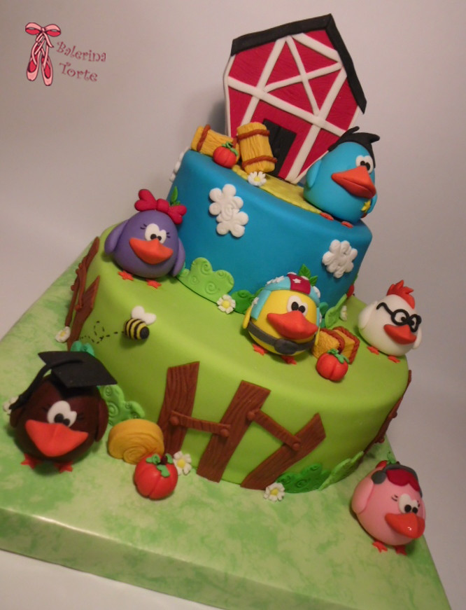Chicken Lines Cake Chickens Cake Cake Pops Pilici To Flickr
