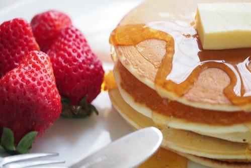 Pancake. / 原味鬆餅。