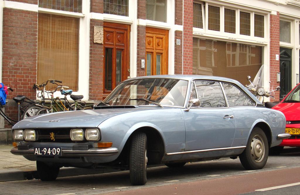 1972 peugeot 504 coupé c12   place: regentessekwartier, den …   flickr