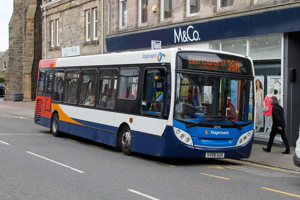 ... 36049 Stagecoach Bluebird SV08 GUX | by North East Transport