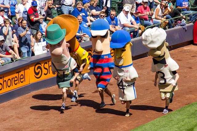 Klement's Sausage Race
