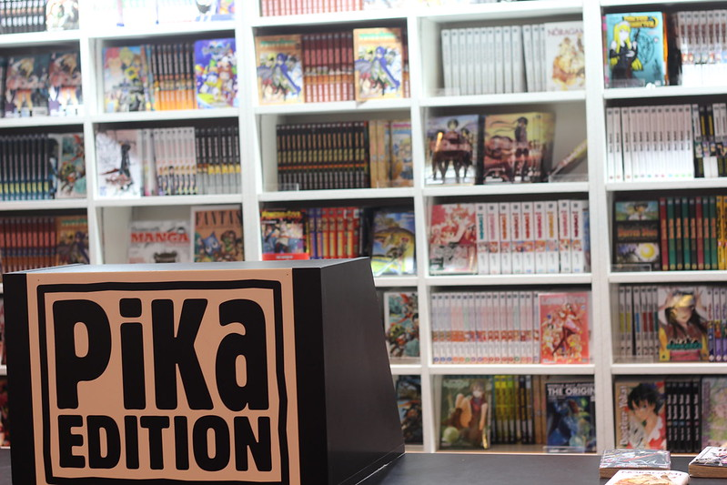 Pika Edition - Salon du Livre de Paris 2015