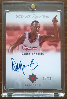 2007-08 Ultimate Collection Signatures #DY Danny Manning /25 | by milkowski.pawel