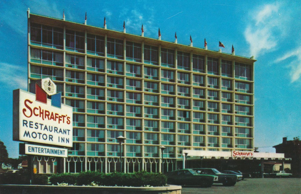 Schrafft's Motor Inn - Niagara Falls, New York