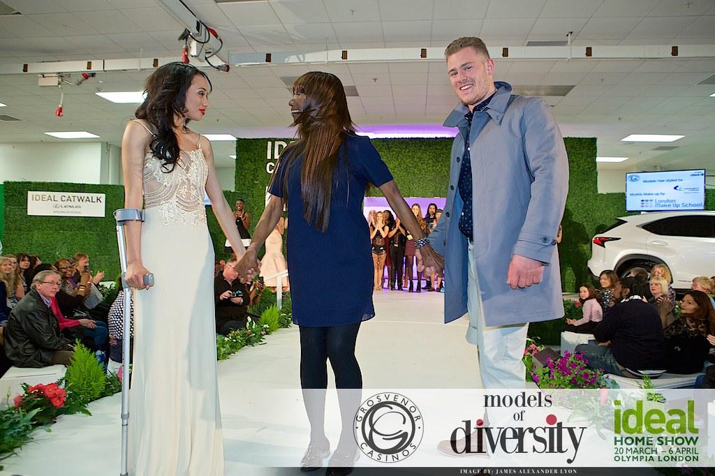 models of diversity ideal home show 2015 models of divers flickr