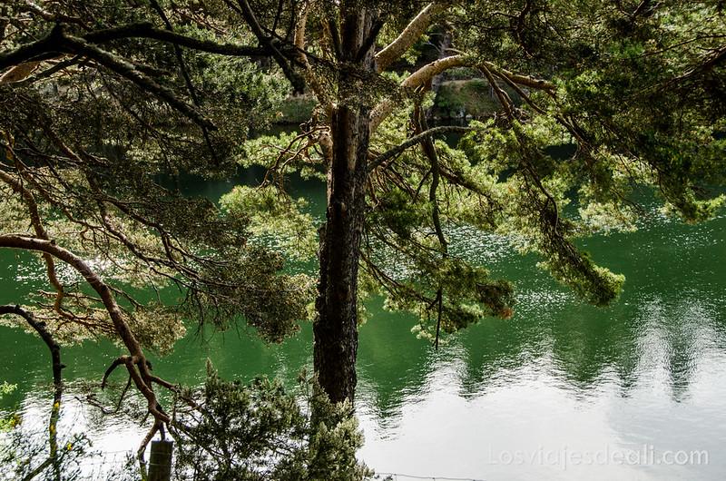 paisaje en un fin de semana en la sierra de Madrid