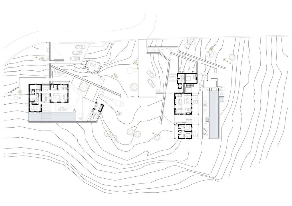 Летний дом на острове Сирос в Греции. Проект Block722