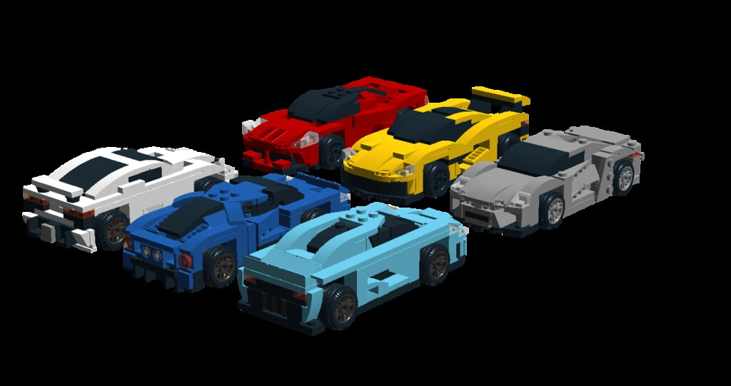 Speed Champions Lego Sets Improved And New Ones Ldd Bui Flickr