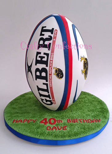 Rugby Ball Shaped Cake Tin