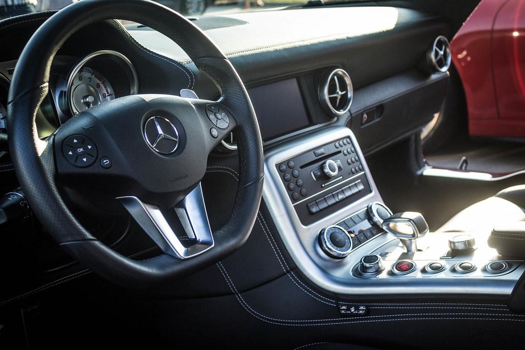 Mercedes SLS AMG Interior | Brandon Satterwhite | Flickr