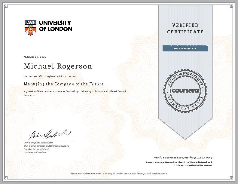 Managing the Company of the Future - London School of Busi…   Flickr
