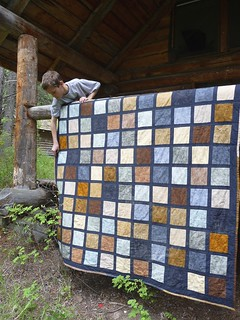 """Rustic"" Quilt for Levi 