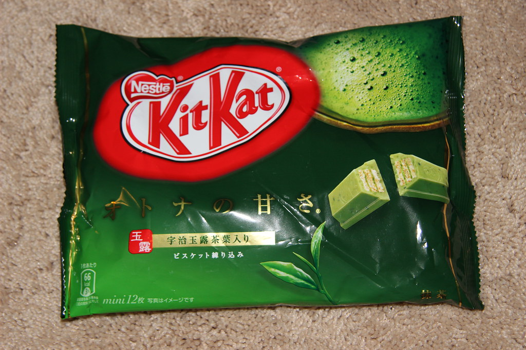 Image result for kitkat green tea flavor
