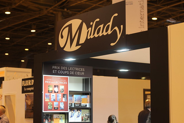 Milady - Salon du Livre de Paris 2015