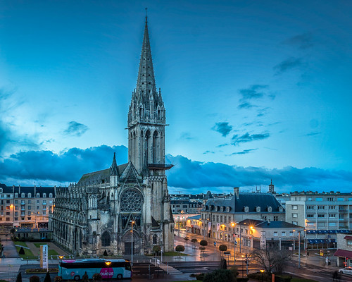 Church of Saint-Pierre - Caen, France | by traxxaxss